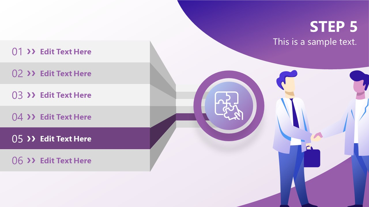PowerPoint Agenda Step 5 Partnership