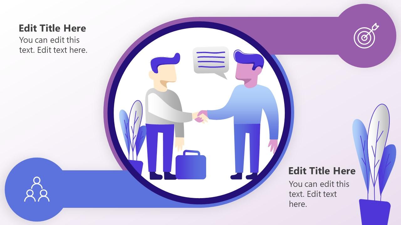 PowerPoint Diagram 2 Options Partnership