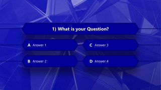 4 Option Multiple Choice PPT