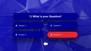 Editable Game Show Questions Template
