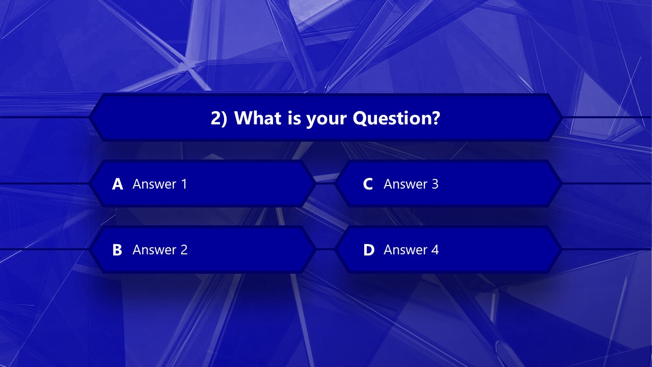 Multi-Choice Questions PowerPoint