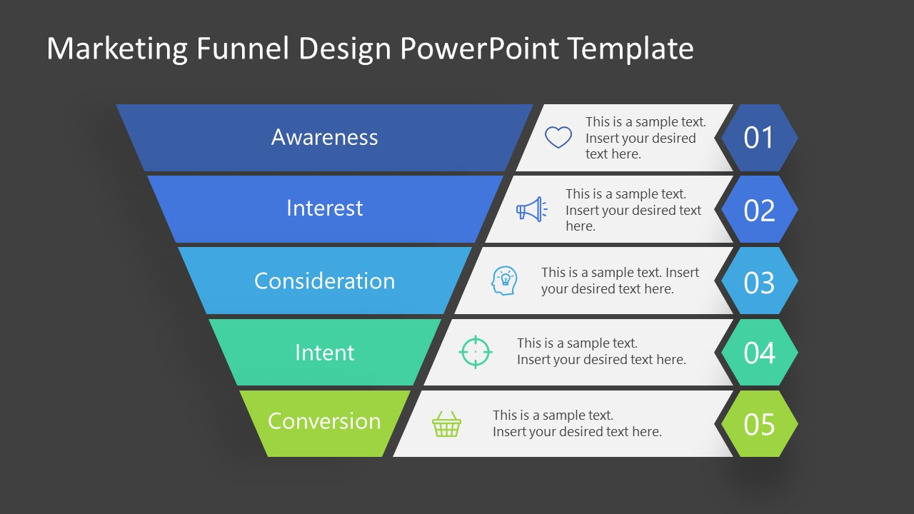 Convert Stage Marketing Funnel Template