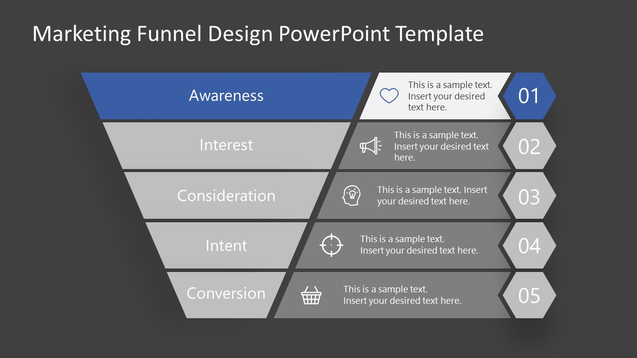 Awareness Stage Marketing Funnel Template