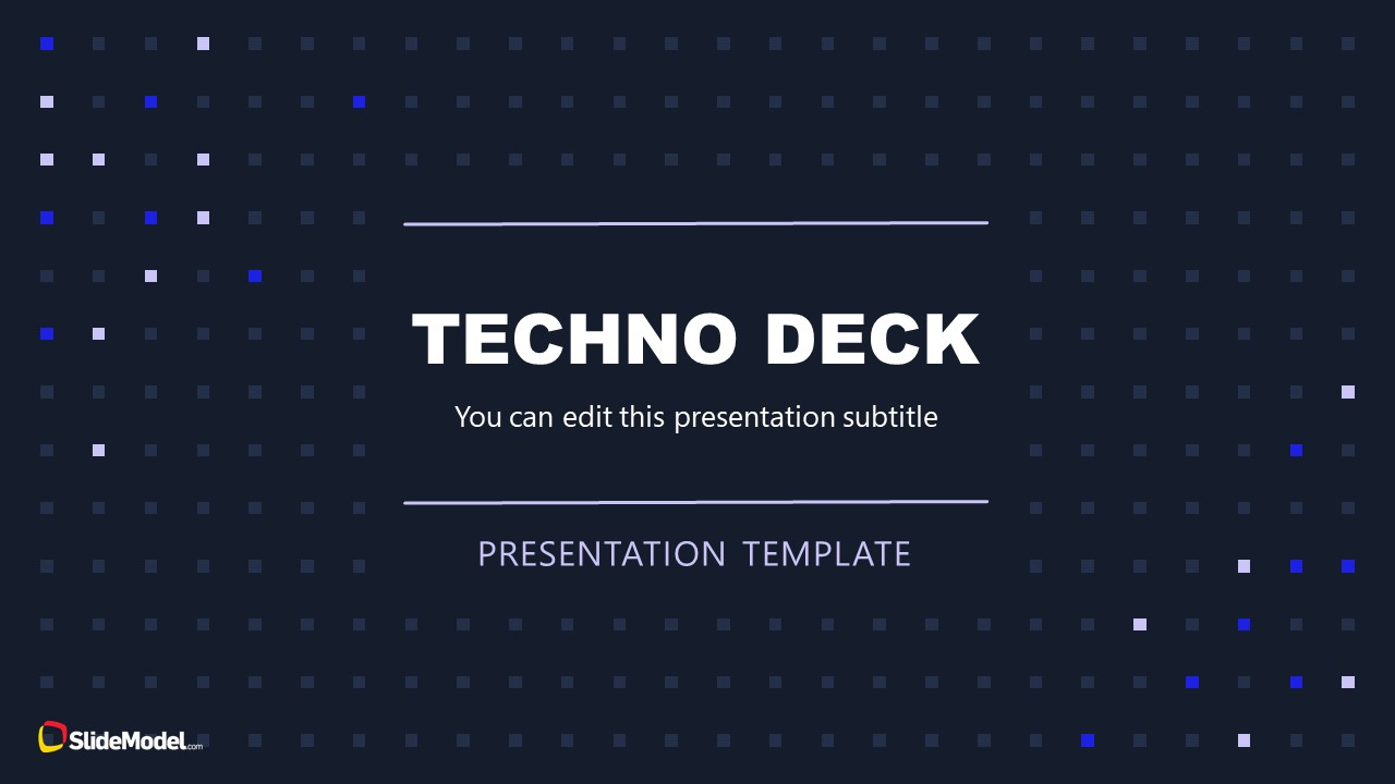 Technology Theme PowerPoint Background