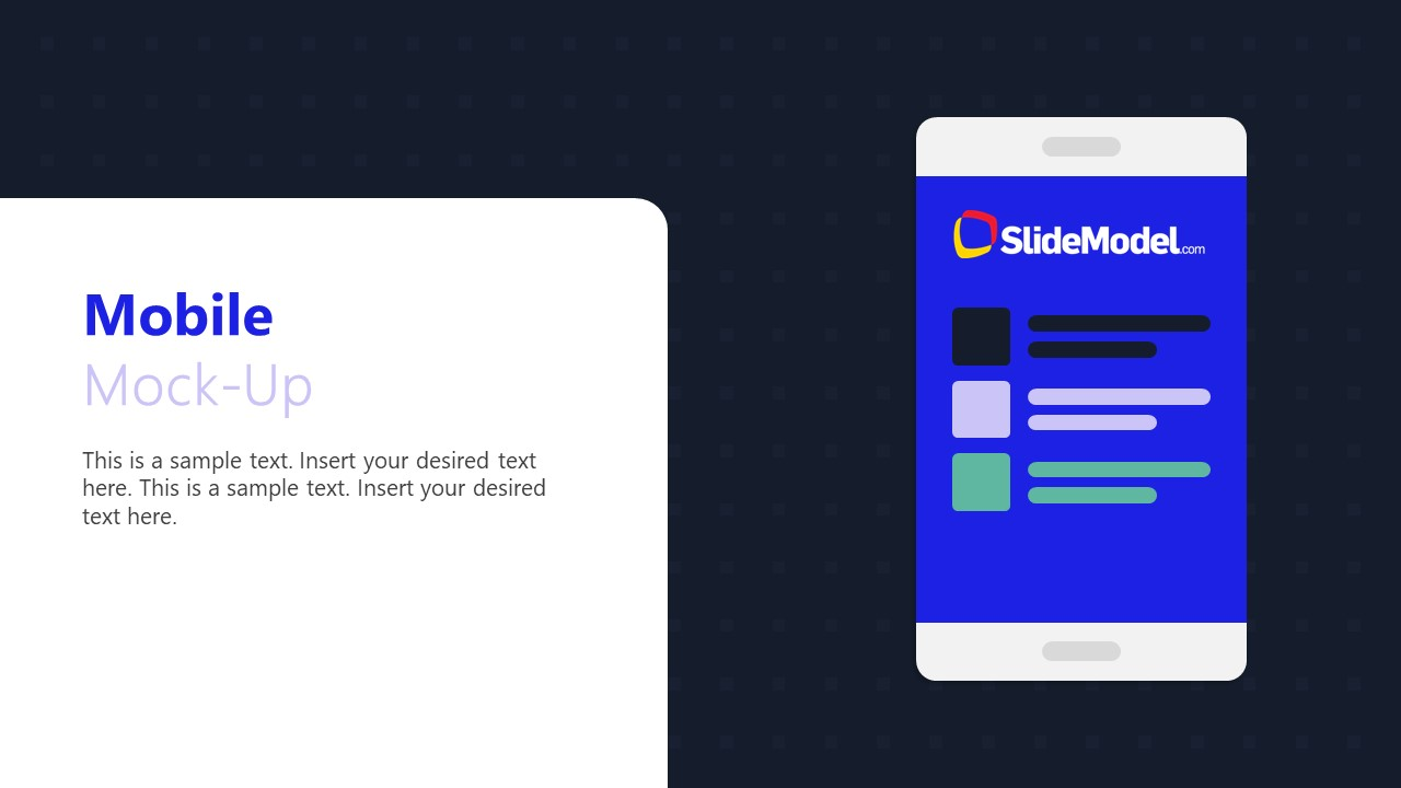 Product Demo PowerPoint Technology Theme Template