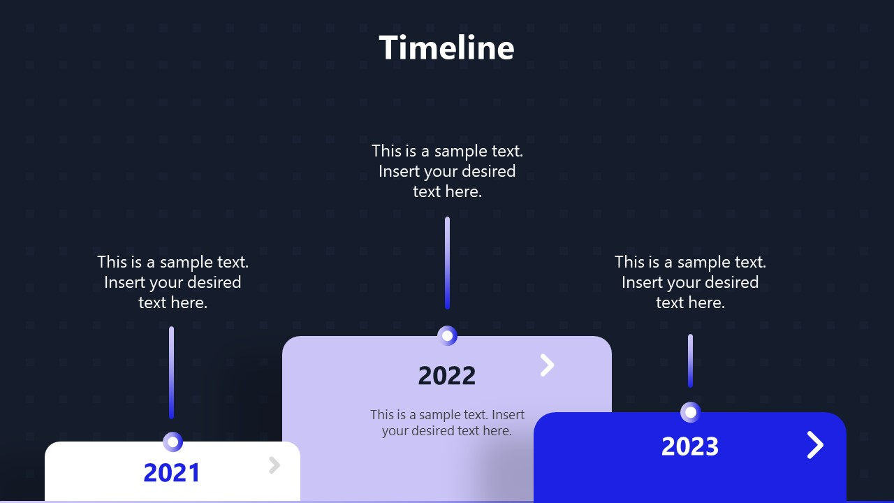 Timeline PowerPoint Technology Theme Template