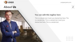 Template for Executive Business Introduction