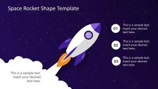 Presentation Space Rocket Shapes