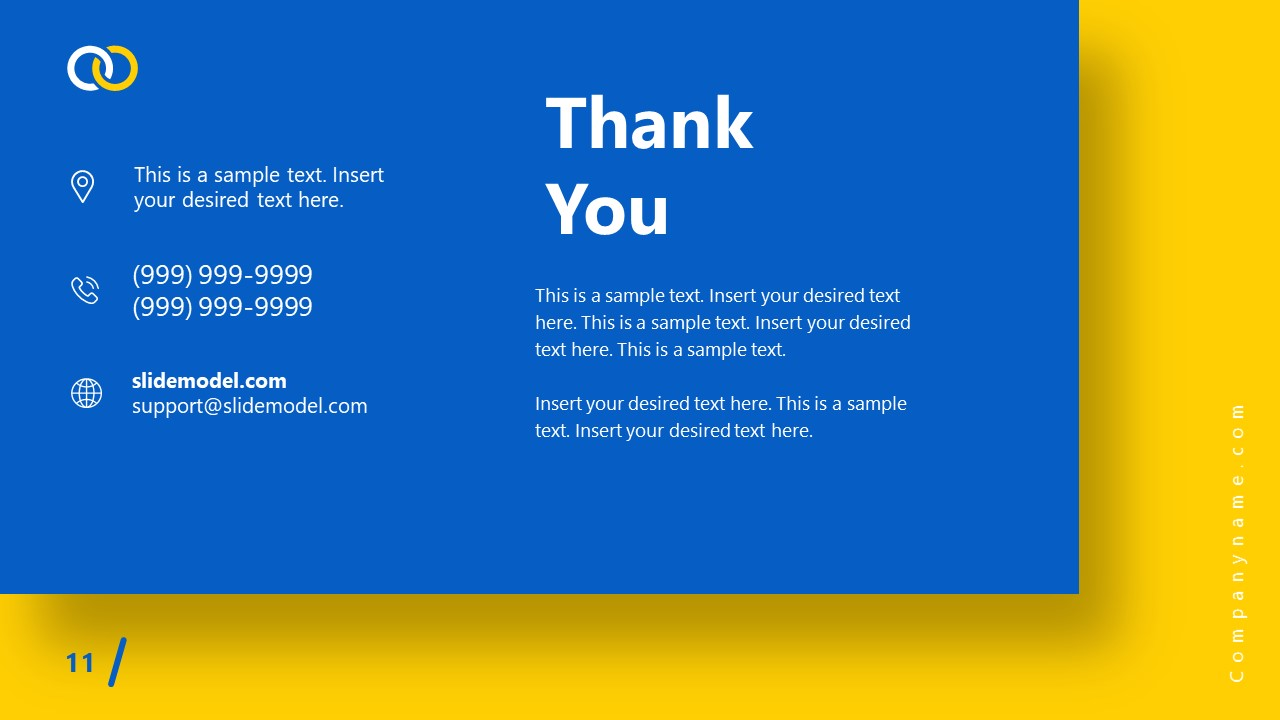 PowerPoint Theme Thank You Slide Impactful Template
