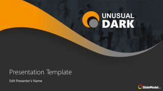 PowerPoint Template of Dark Color Presentation