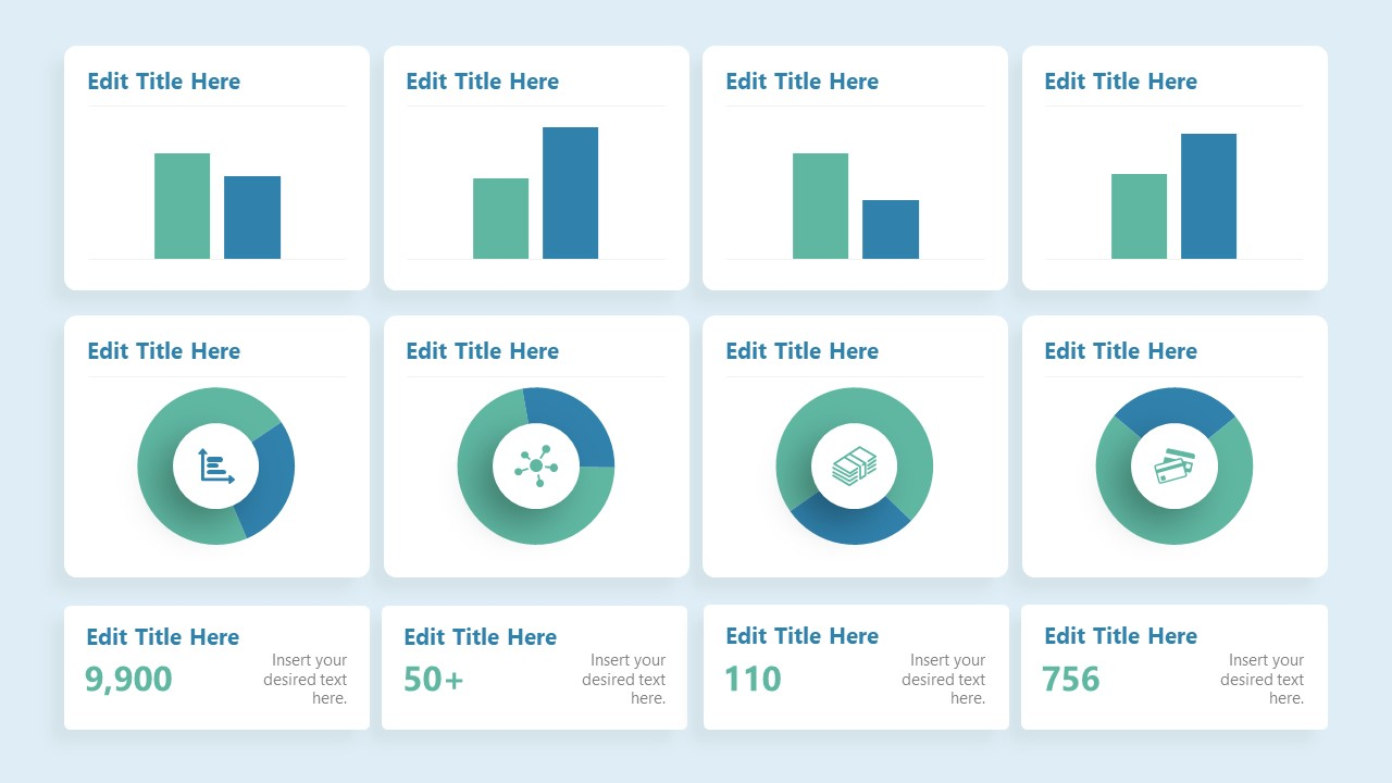 Presentation of Data Drive Financial Charts
