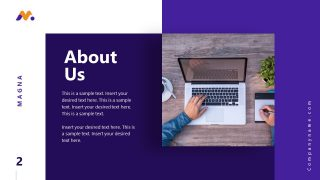 Magna PowerPoint About Us Template