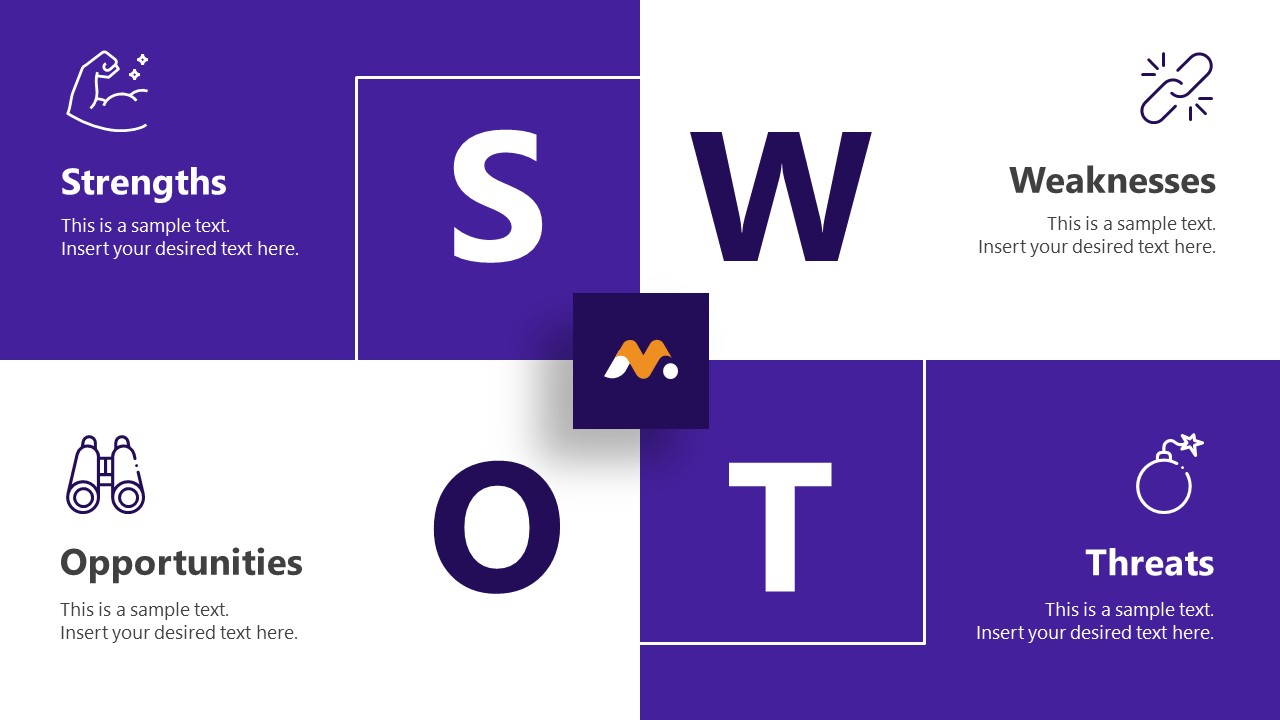 Magna PowerPoint SWOT Template