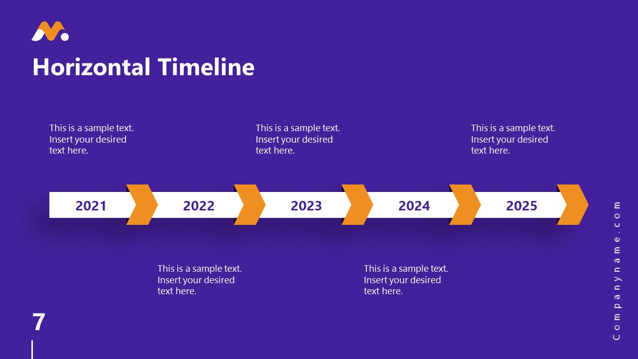 Magna PowerPoint Timeline Template