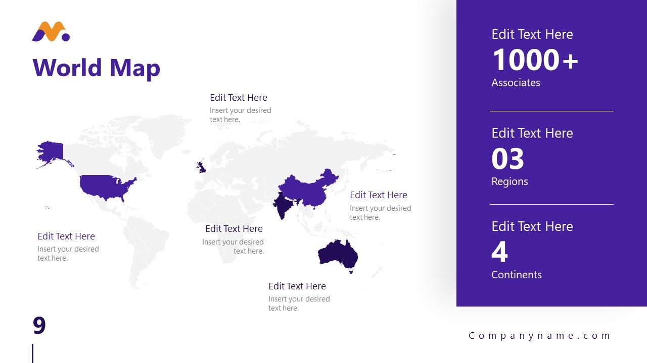 Magna PowerPoint World Map Template