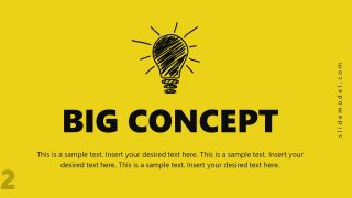 Presentation of Big Concepts in PPT