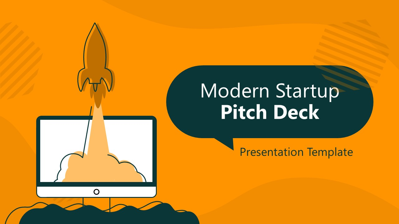 Presentation of Startup Pitch Deck