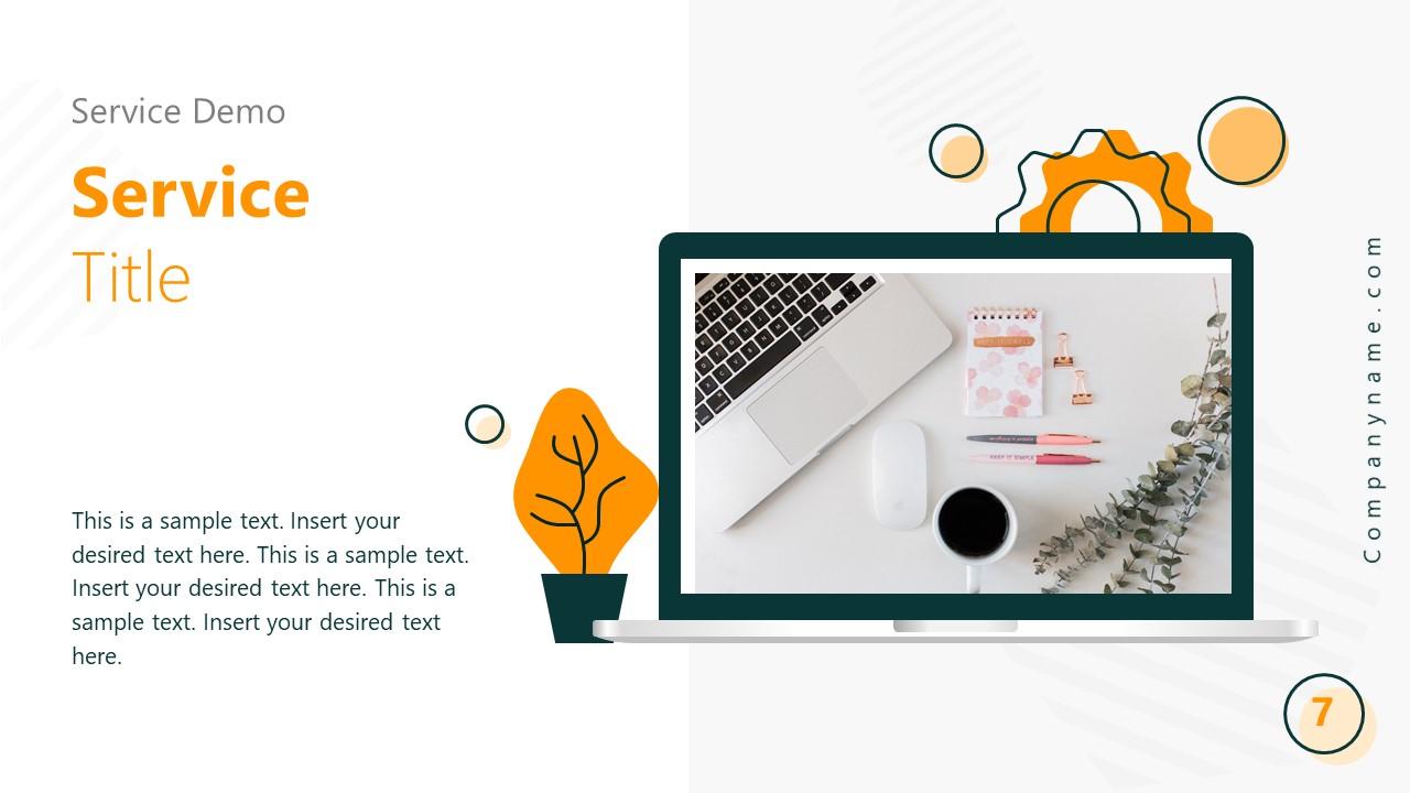 Startup PowerPoint Presentation Service Demo