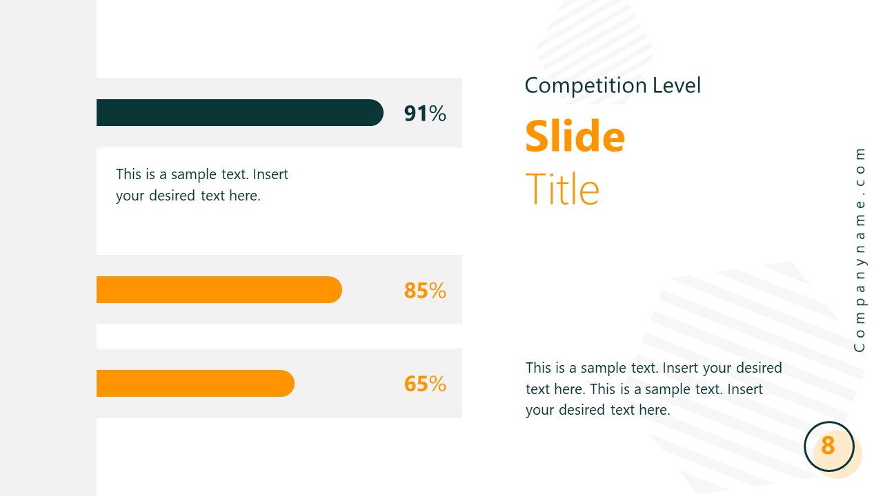 Startup PowerPoint Presentation Competitive Analysis