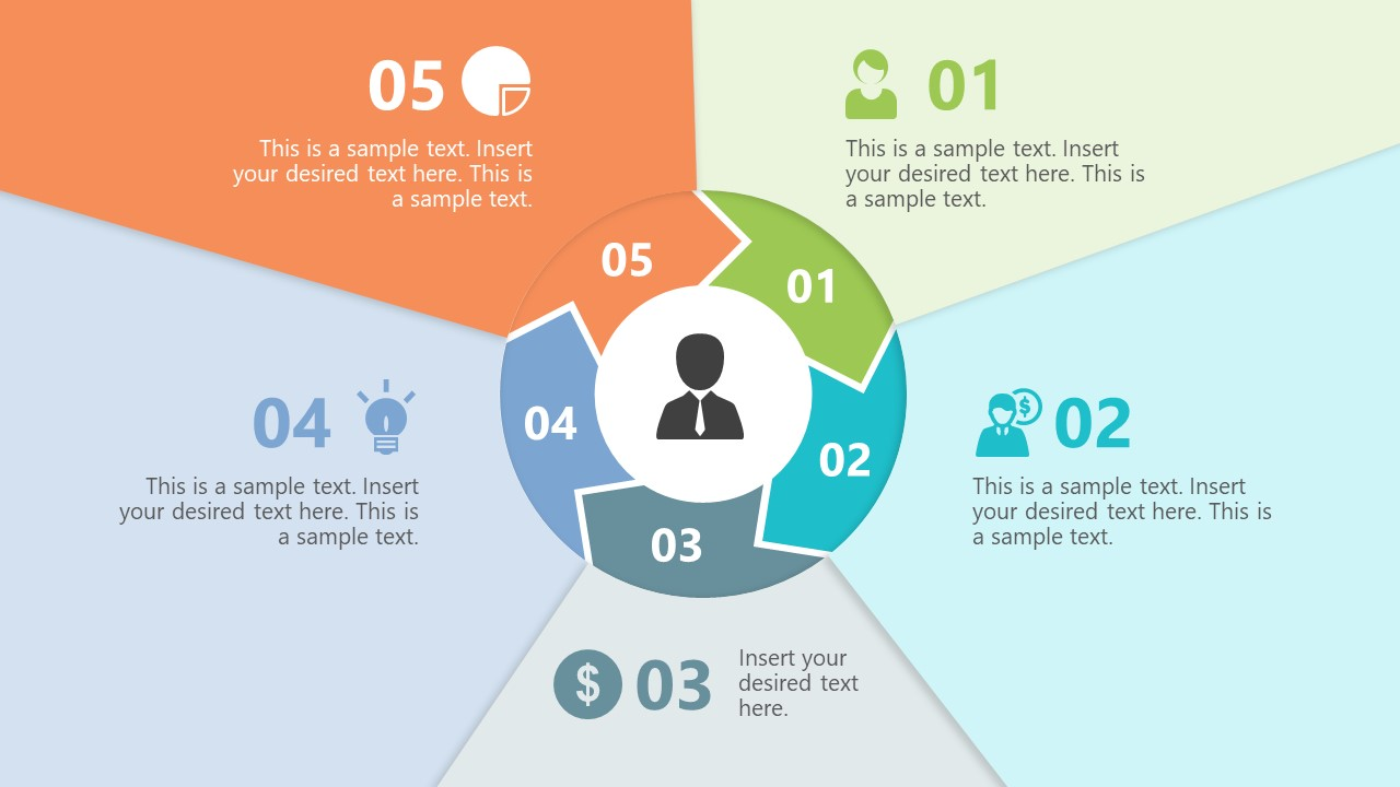 Circular Chevron Paper Effect Step 5 Template