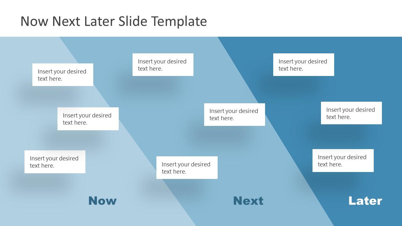 Presentation of 3 Steps Roadmap Layers Diagram