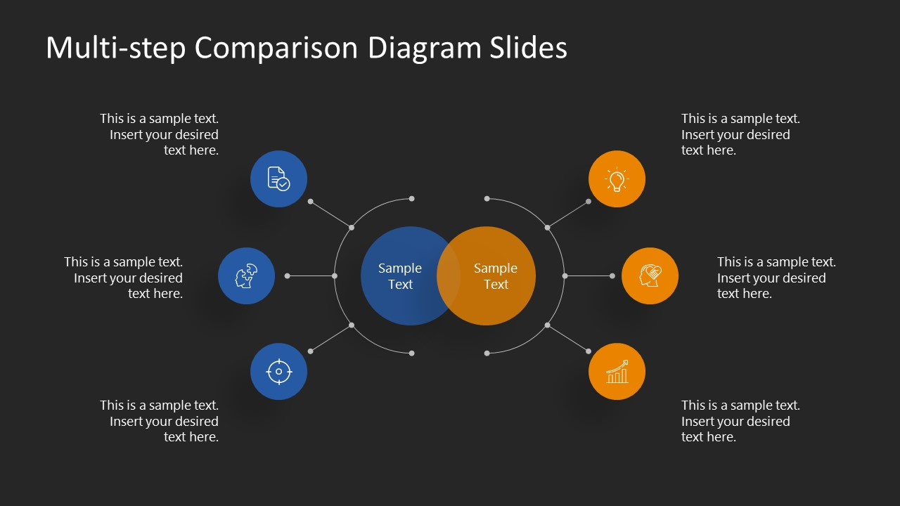 Templates for 3 Steps Simple Comparison