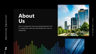 PowerPoint Who We Are Slide Spectrum Design
