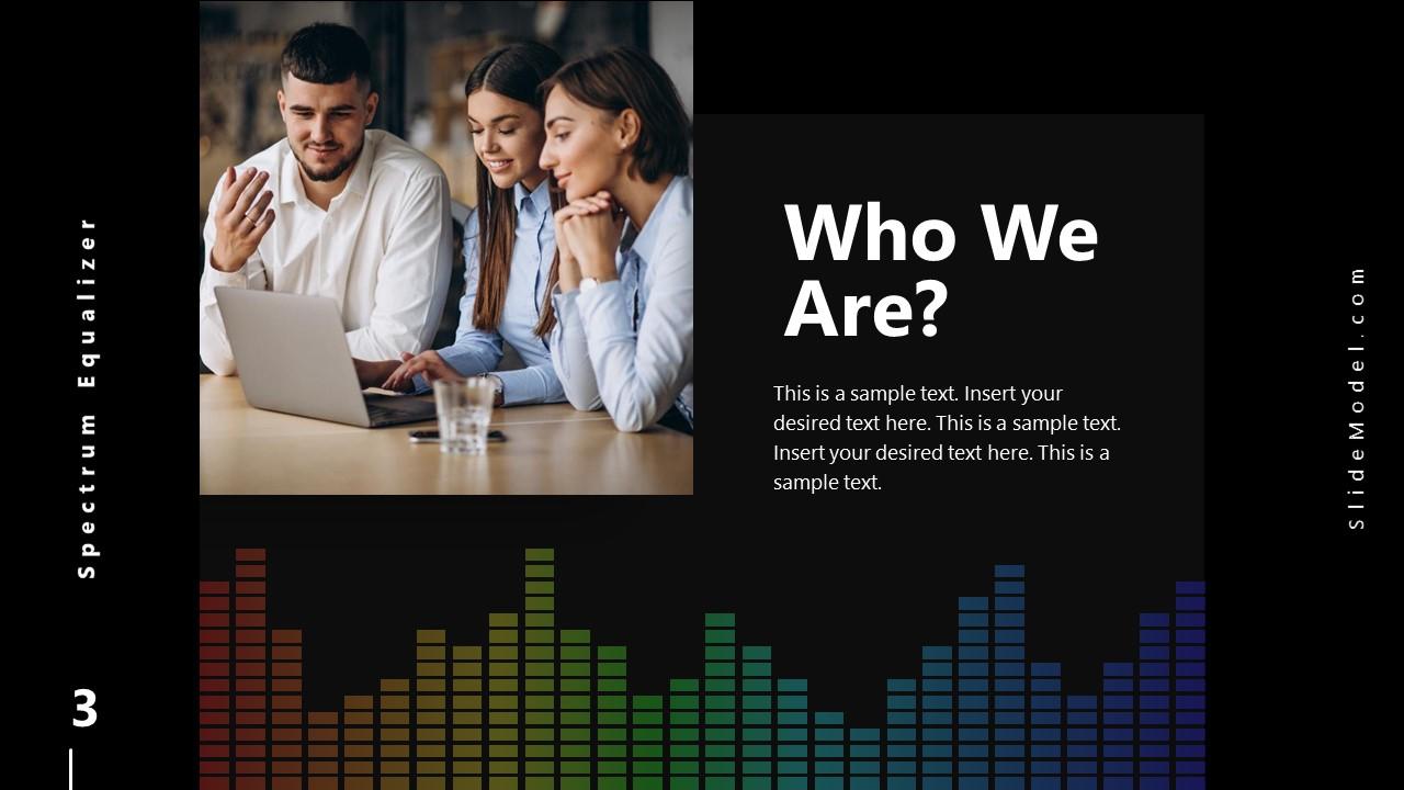 PowerPoint About Us Slide Spectrum Design