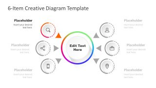 PowerPoint Item 1 Infographic Diagram Template