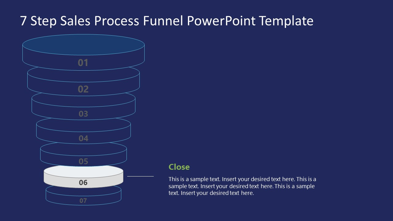 Funnel Sales Process Close Stage Template