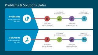 Slide of Problem and Solution Diagram PPT