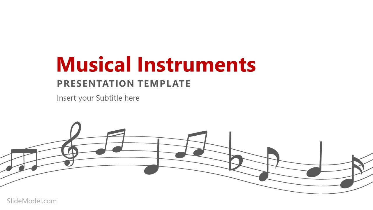 Music Composition PowerPoint Shapes