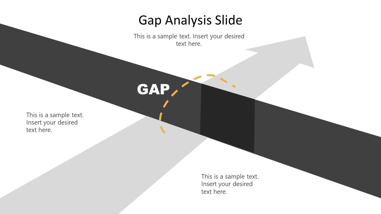 Editable Bridging the Gap Template PPT