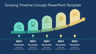 Infographic Timeline for Growth Concepts
