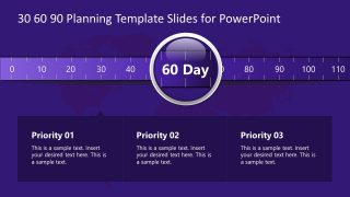 60 Days Scale Template Slide