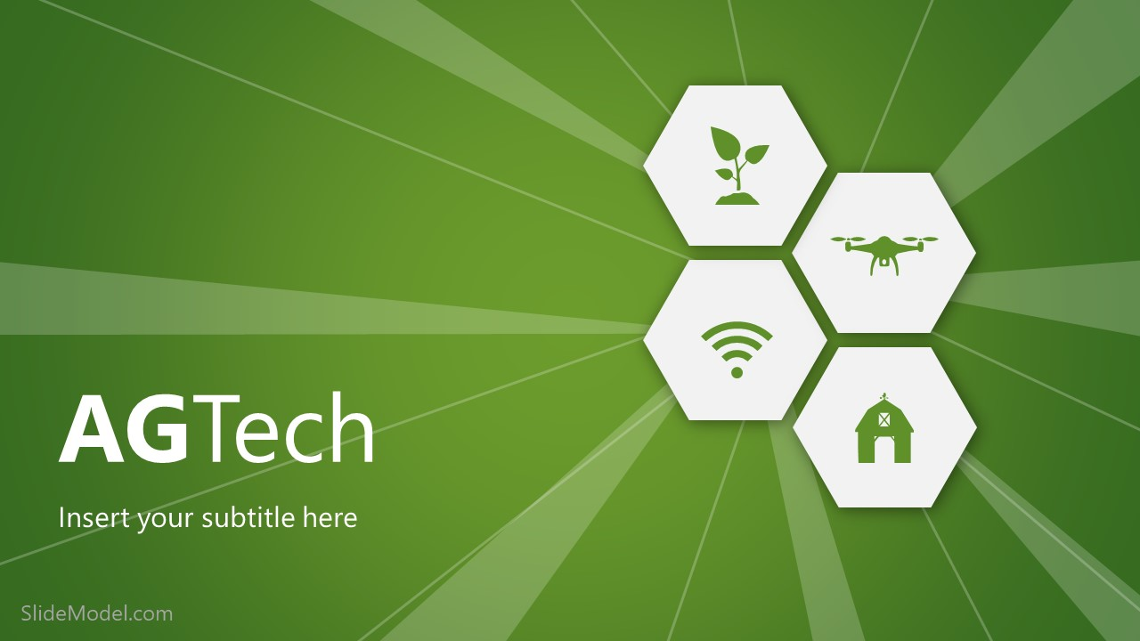 Cover Slide of AGTech PowerPoint