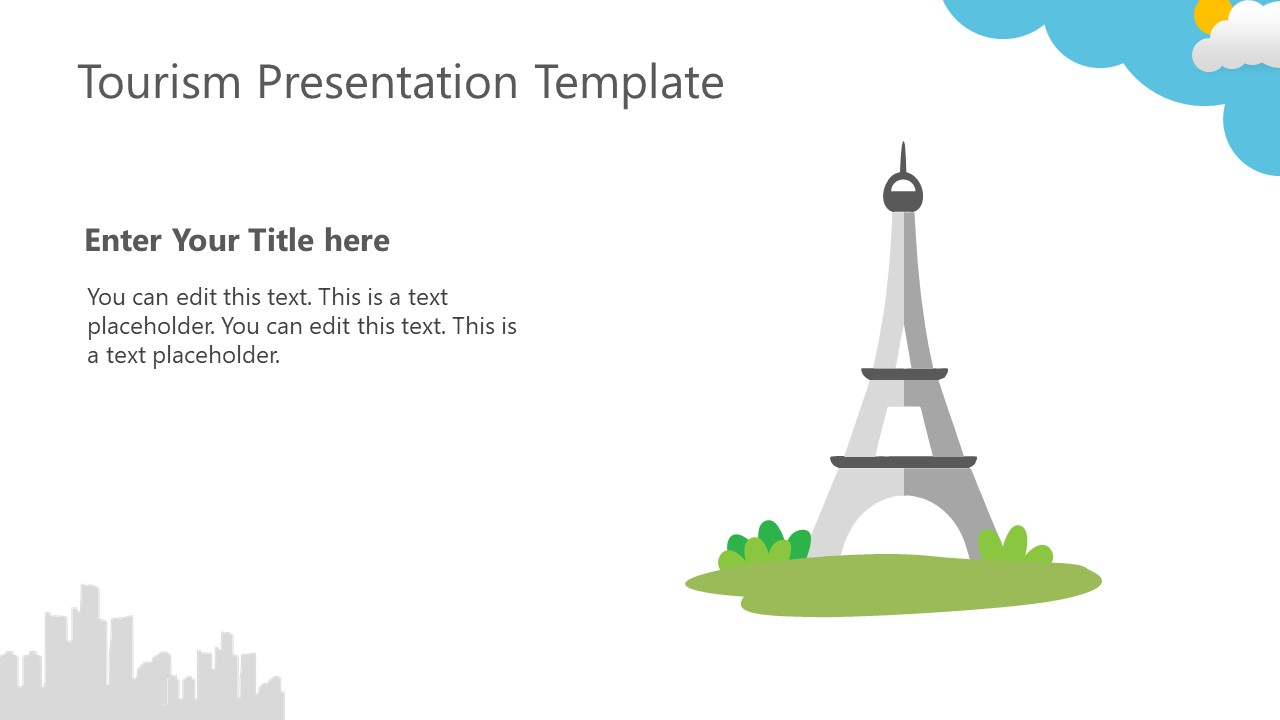 Presentation of Eiffel Tower for Tours