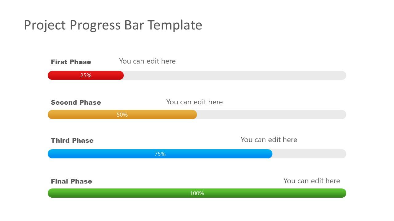 Color Progress Bar Templates