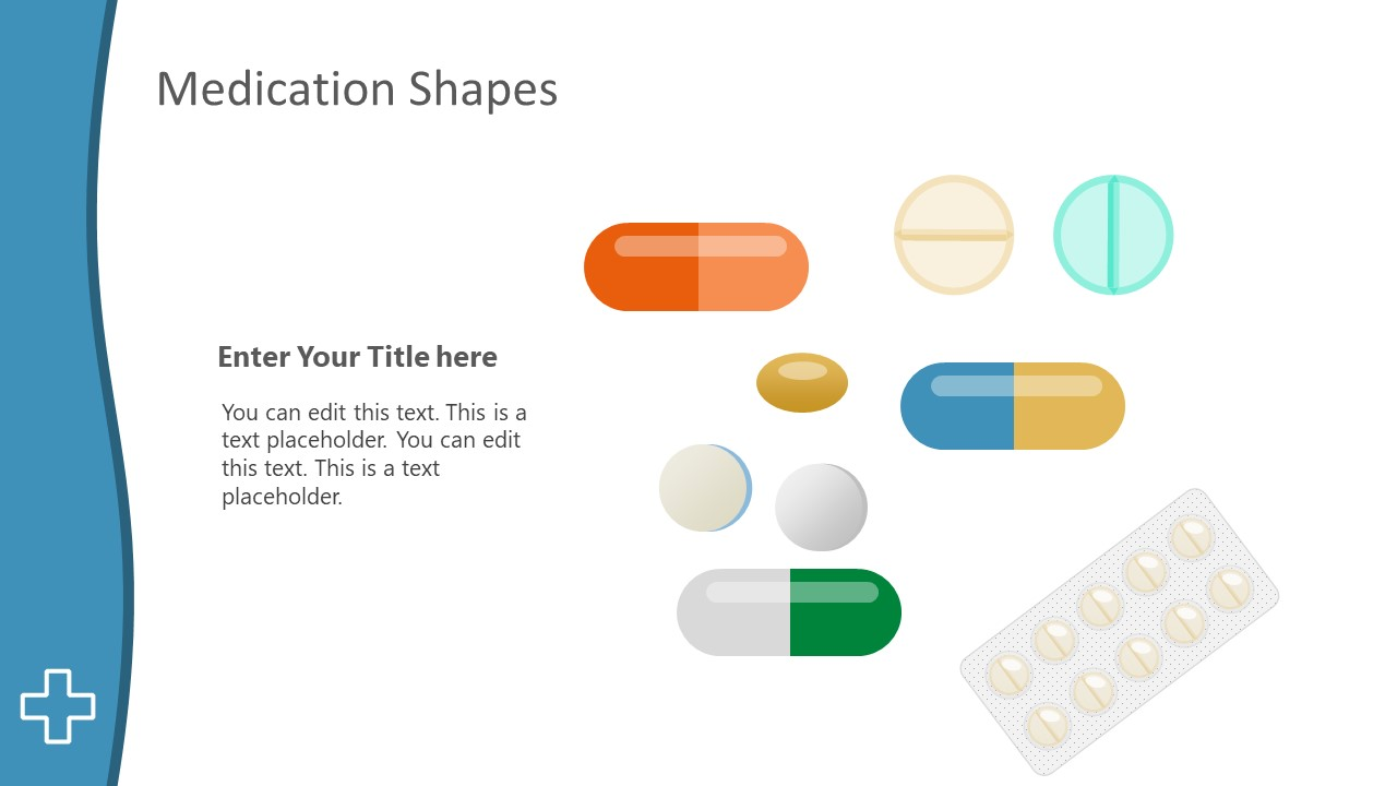 PowerPoint vector Graphics for Medication
