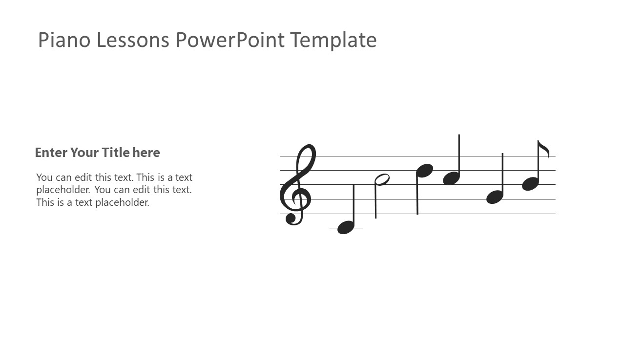 PPT Musical Notes Symbols