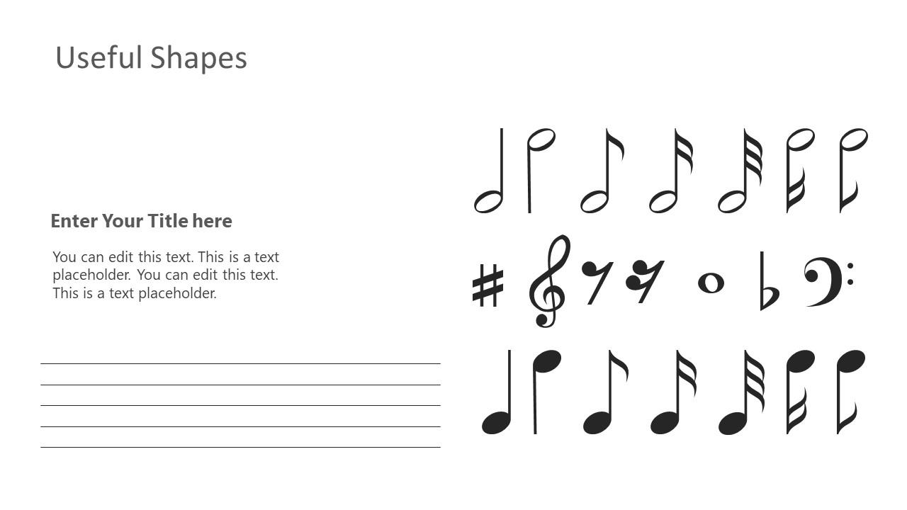 Piano Lesson Presentation of Symbols