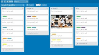 Cards of Trello Boards in PowerPoint