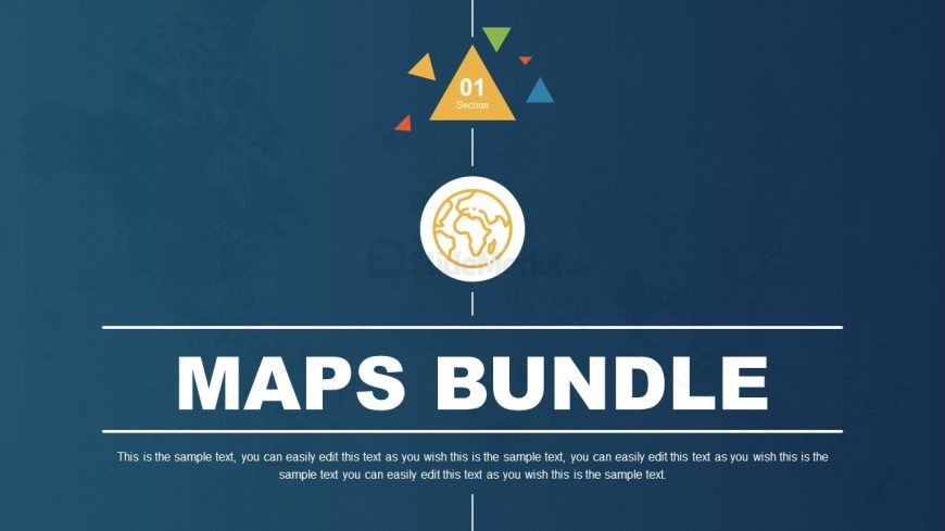 Cover Slide of PowerPoint Maps Bundle