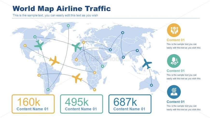 Flight Traffic Mapping Template