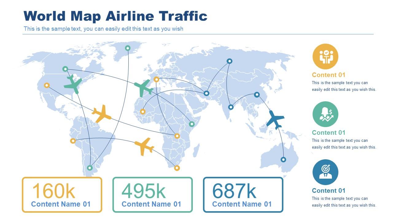 Flight Traffic Mapping Template