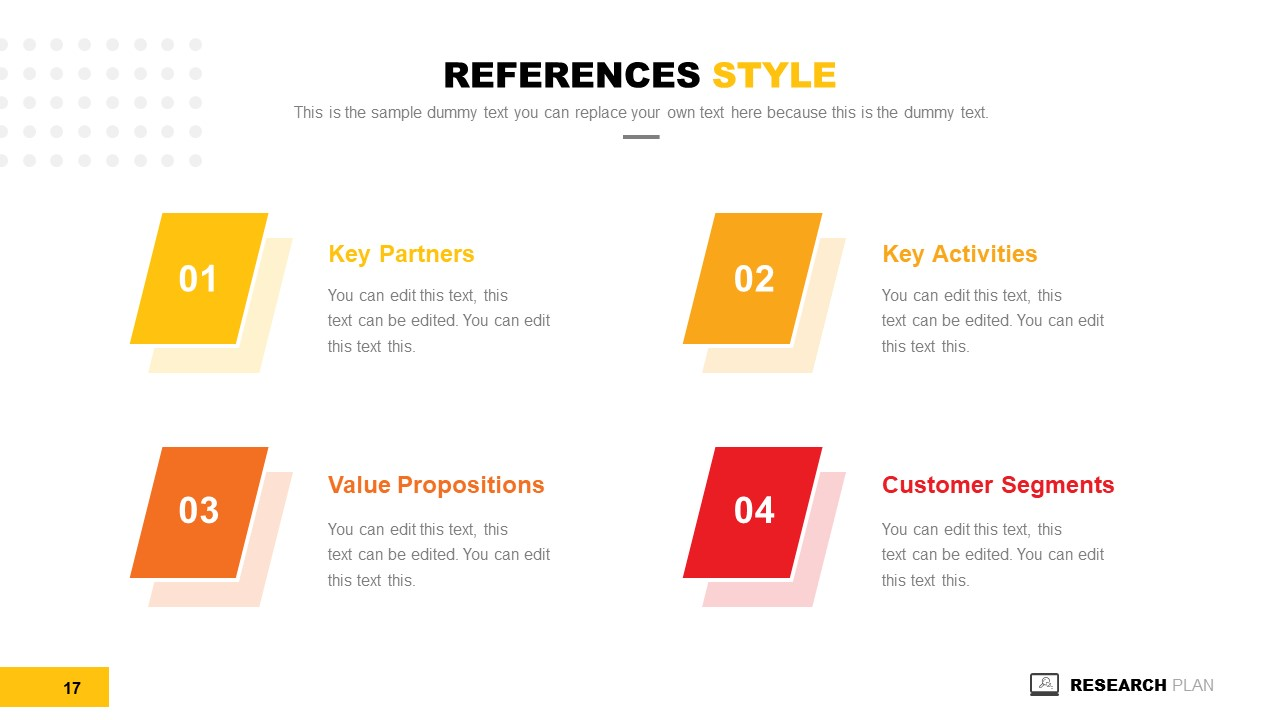 Infographic PowerPoint Research Plan