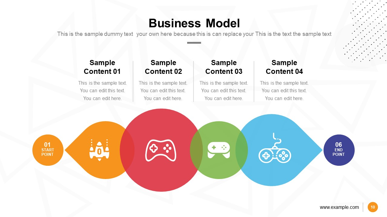 Video Game Pitch Deck Business Model