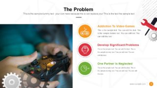 Video Game Pitch Deck Problem PPT