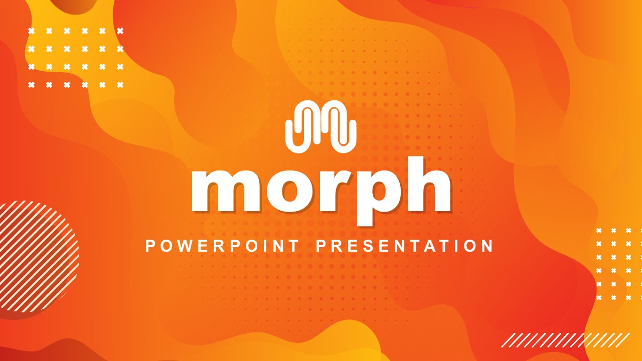 Introduction Presentation Morph Template