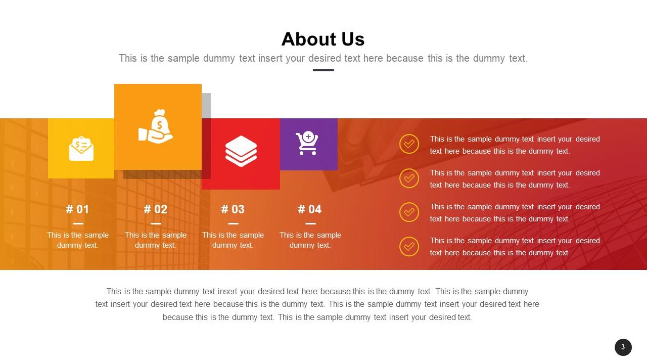 Introduction Business Profile Design